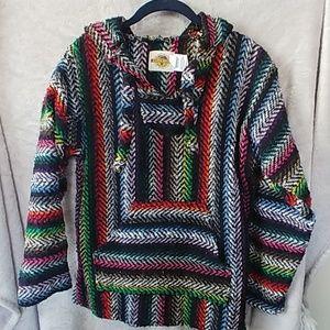 Earth Ragz Baja sweater size small